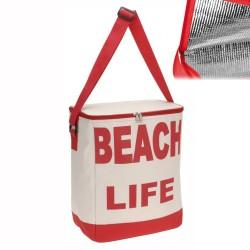 Storepoint Borsa Termica Beach Life Colore Rosso