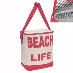 Borsa Termica Modello Beach Life Colore Fucsia