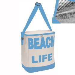 Borsa Termica Modello Beach Life Colore Blu