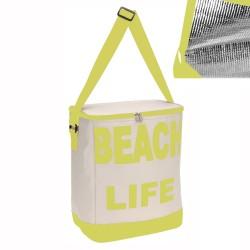 Borsa Termica Modello Beach Life Colore Cedro