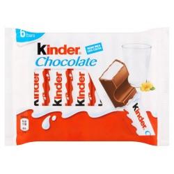 KINDER Maxi Barrette Di Cioccolato Al Latte 20 Confezioni Da 6 Barrette 126 Grammi