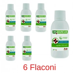 DrMarcus Disinfettante liquido profumato al limone Ml 250 Confezione 6 Flaconi