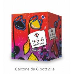 SANTERO 958 EXTRA DRY PUPAZZA 6 BOTTIGLIE DA CL.75