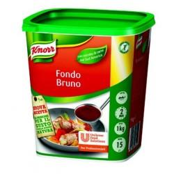 KNORR Fondo Bruno In Pasta Confezione In Secchio Da 1 Chilogrammo