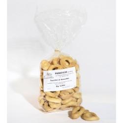 Tarallini Pugliesi al Finocchio confezione da 500 grammi Panificio Rocco