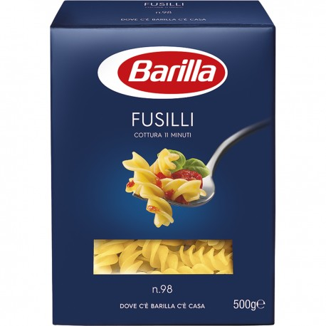 BARILLA Fusilli N 98 Pasta 500 Grammi