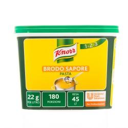 KNORR Brodo In Pasta Sapore Secco Confezione In Secchio Da 1 Chilogrammo