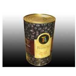 BIANCHI Pitted Black Olives In Tin Box From 5 Kilograms