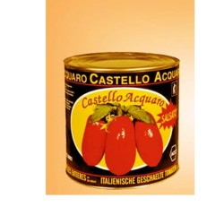 CASTLE ACQUARO Peeled Tomatoes In Tin Box From 2.5 Kilograms