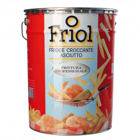 Friol Olio Per Friggere Semi Latta da 25 Litri Frittura Professionale Croccante Asciutto