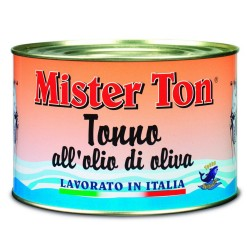 Mister Ton tuna in olive oil Worked In Italy 1.65 kg