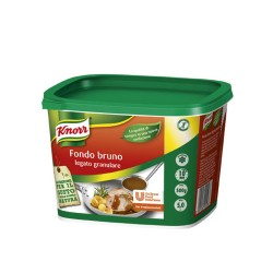 Knorr Fondo Bruno Legato Granulare Secchiello Da 500 Gr