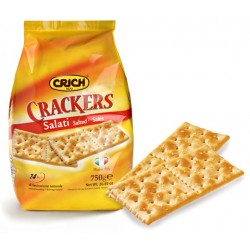 CRICH Crackers Salati in Superficie in Sacchetto da 750 grammi