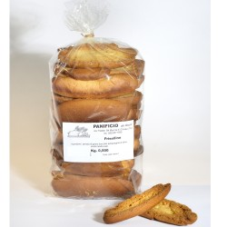 Friselline Tipiche Pugliesi di Semola di Grano Duro confezione 500 grammi Panificio Rocco