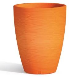 Vaso Adone Round Arancio Monacis diametro cm 30 altezza cm 38