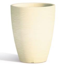 Vaso Adone Round Ivory Monacis diametro cm 30 altezza cm 38