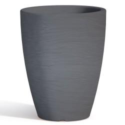 Vaso Adone Round Grigio Monacis diametro cm 30 altezza cm 38