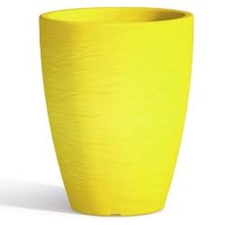 Vaso Adone Round Yellow Monacis diametro cm 30 altezza cm 38
