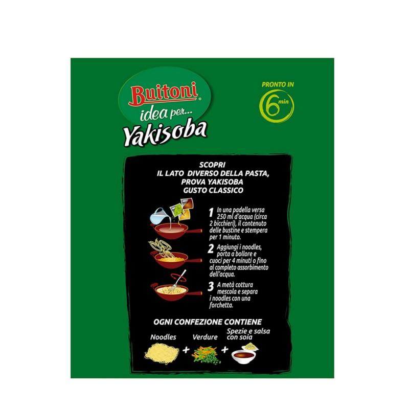 Buitoni yakisoba gusto classico 2 porzioni confezione da for Cucinare yakisoba