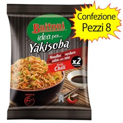 Buitoni Yakisoba Gusto Chili Pack of 8 Packs of 120 g each