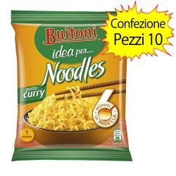 Buitoni Noodles Gusto Curry Confezione da 10 Pacchi di Noodles da 71 gr Ciascuno