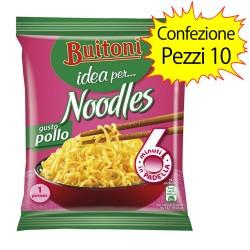Buitoni Noodles Gusto Pollo Confezione da 10 Pacchi di Noodles da 71 gr Ciascuno
