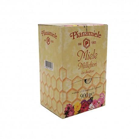 Pianamiele Miele Millefiori Confezione da 150 Monodosi da 6 Grammi Ciascuna