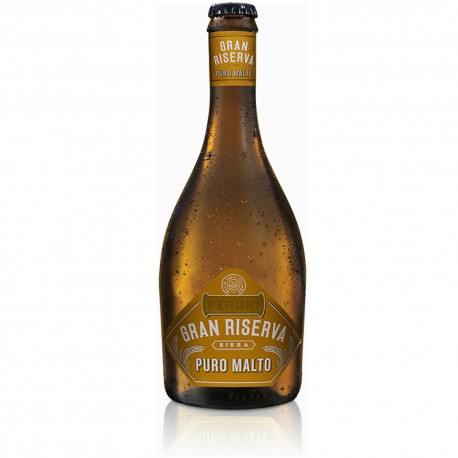Birra Peroni Gran Riserva Puro Malto Confezione da 12 Bottiglie da 50 Centilitri Ciascuno
