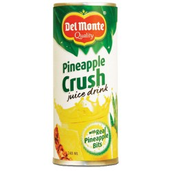 Crush Ananas Del Monte 24 Cans of 240 Milliliters