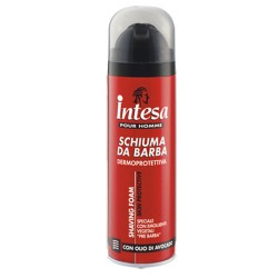 Intesa Pour Homme Moisturizing Shaving Foam Packaging 300 milliliters