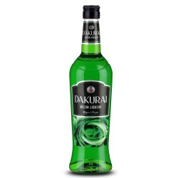 Dakurai Melon Liqueur 20% Pack of 700 milliliters