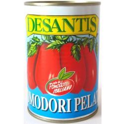 12 Pack Multipack Packs of 800 Grammes Desantis Peeled Tomatoes