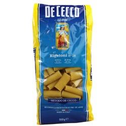 De Cecco Rigatoni n 24 Grammi 500 Pasta Italiana