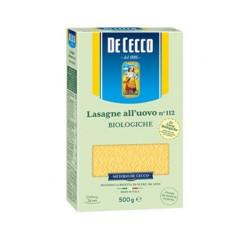 Lasagne all'Uovo N 112 De Cecco Confezione da 500 Grammi