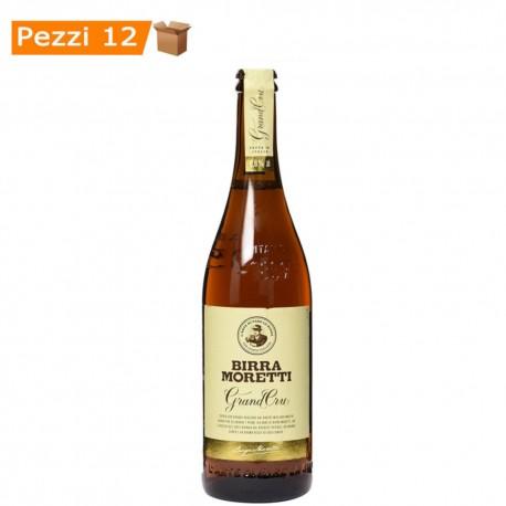 Multipack da 12 Birre Moretti Grand Cru 750 Milliliters Ciascuna