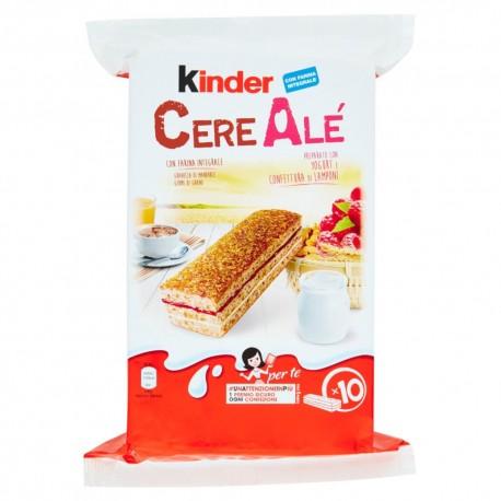 Kinder Cereale\u0027 al Lampone Confezione da 275 Grammi e 10 Merendine
