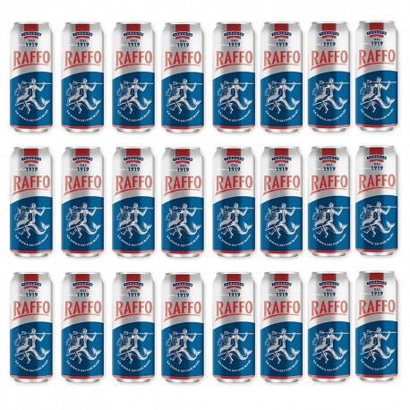 BIRRA RAFFO IN LATTINA CL50X24PZ GRADAZIONE ALCOLICA 4.7%
