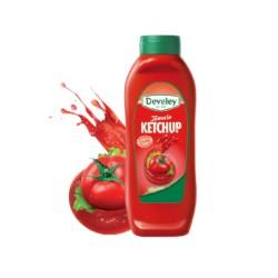 Develey Ketchup Tomato Classico Squeeze da 875 Milliliters