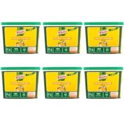 Multipack da 6 Secchi di Knorr Brodo In Pasta Sapore Secco Da 1 Chilogrammo Ciascuno