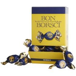 Bon Borsci Cuneesi al San Marzano Marsupio Praline di Cioccolato Kg 1 Ripiene di Crema Pasticcera