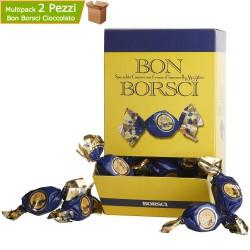 Praline di Cioccolato Kg 2 Bon Borsci Cuneesi al San Marzano Ripiene di Crema Pasticcera
