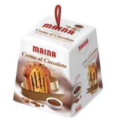 Multipack da 16 Panettoni Maina Crema al Cioccolato da 800 Grammi Ciascuno