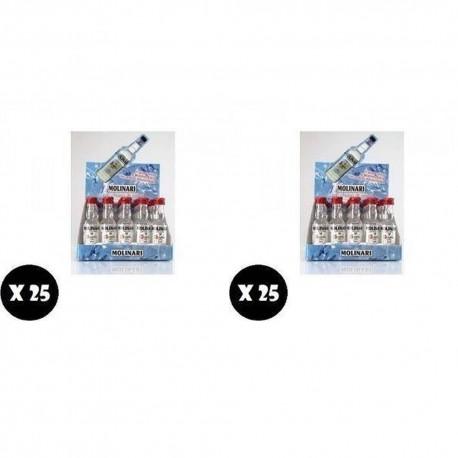 Molinari Sambuca Mignon 3 cl Confezione da 50 Bottiglie