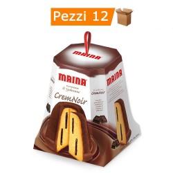 Multipack da 12 Pandori Maina Crem Noir Confezionati 750 Grammi Ciascuno
