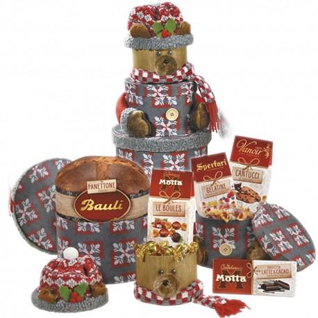 Scatole Benny L'orsetto Benny con Panettone pezzi 6 Cioccolato Motta Sperlari