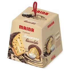 Multipack da 16 Panettoni Maina Mascarpone Cioccolato da 750 Grammi Ciascuno