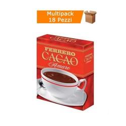 Multipack da 18 Confezioni di Cacao Amaro Ferrero da 75 Grammi Ciascuna