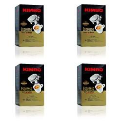 Kimbo Espresso 4 Confezioni da 18 Cialde 100% Arabica - 72 Cialde Totali