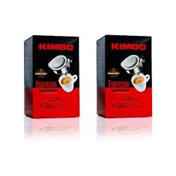 Kimbo Espresso 2 Confezioni da 18 Cialde 100% Napoletano - 36 Cialde Totali