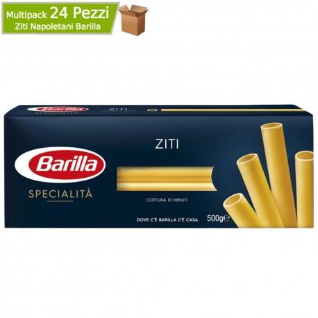 Ziti Napoletani Barilla Le Specialita' Cottura 10 Minuti Mulktipack 24 Confezioni da 500 Grammi